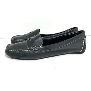 Michael By Michael Shannon Black Loafers Sz 7
